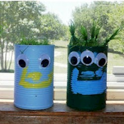 Tin Can Friends Craft