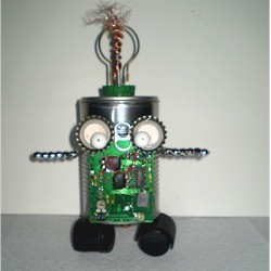 Recycled Tin Can Robot - Kids Crafts