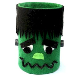 Tin Can Frankenstein - Kids Crafts