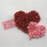 Tissue Paper Heart Card - Kids Crafts