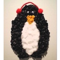 Tissue Paper Penguin Craft