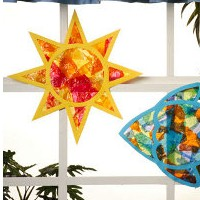 Tissue Paper Star Craft