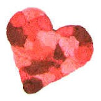 Tissue Paper Valentine Pin Craft