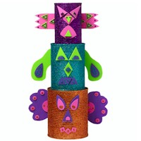Totem Pole - Kids Crafts