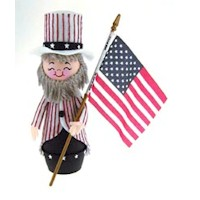 Uncle Sam Decoration Craft