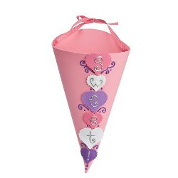 Valentine Cone Craft