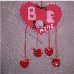 Mobile Valentine - Kids Crafts