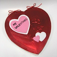 Valentine&#39s Day Card Album Craft