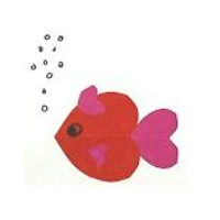 Valentine Fish - Kids Crafts
