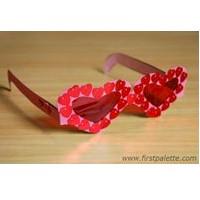Fun Valentine Glasses Craft