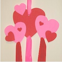 Valentine Windsock - Kids Crafts