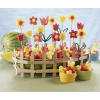 Watermelon Flower Garden - Kids Crafts