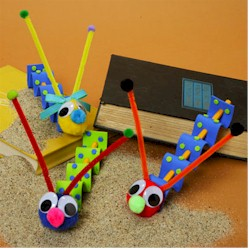 Wiggly Worms - Kids Crafts