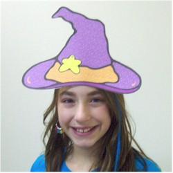 Printable Witches Hat - Kids Crafts