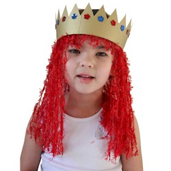 Wacky Wigs - Kids Crafts
