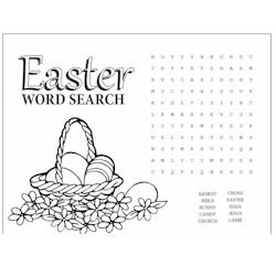 Easter Word Search Craft