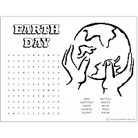 Earth Day Word Puzzles - Kids Crafts