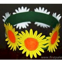 Flower Crown - Kids Crafts