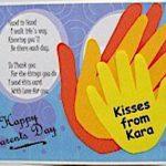 Handprint Parent's Day Card
