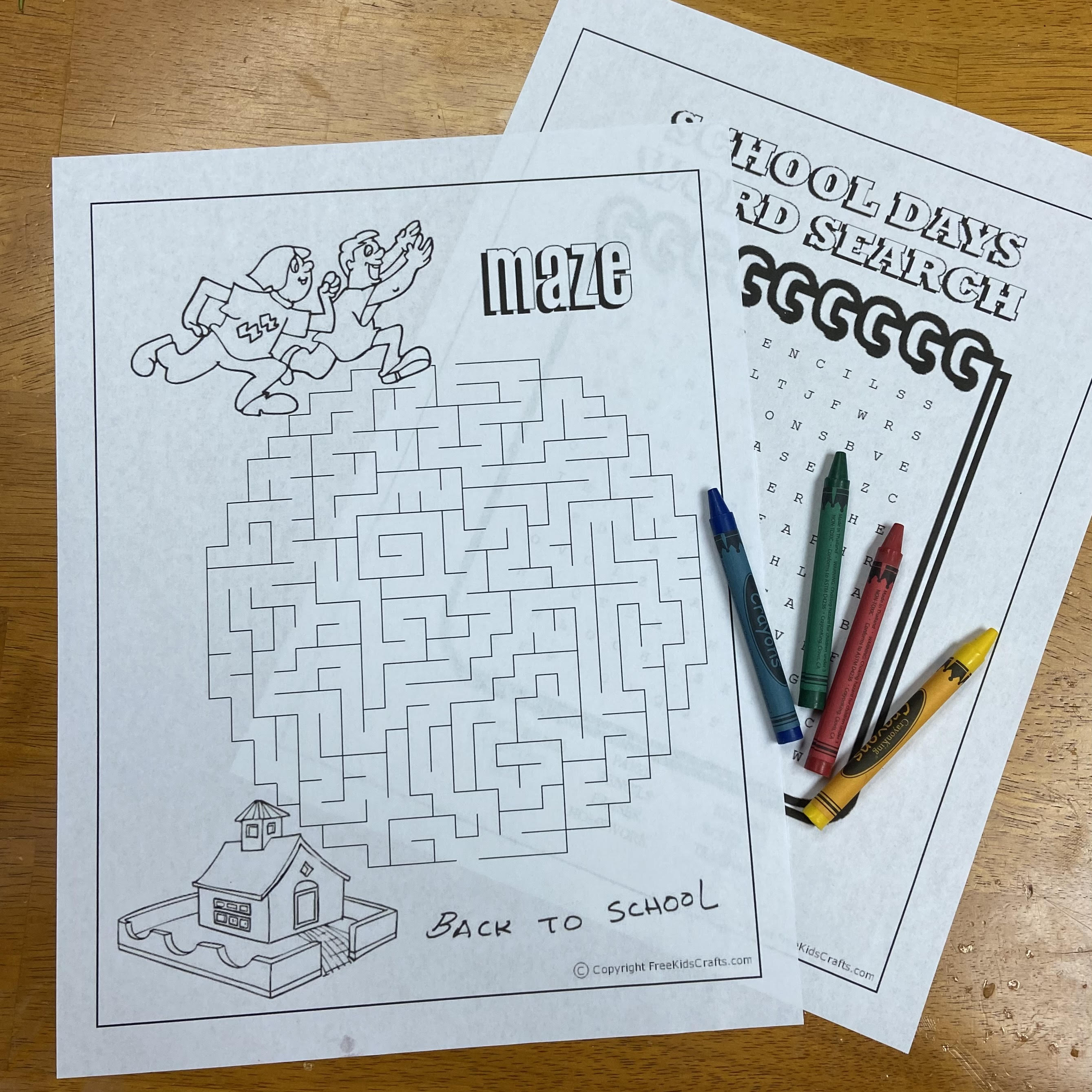 Puzzles for young kids
