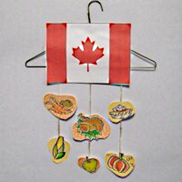 Canadian Thanksgiving Mobile Craft