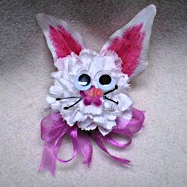 Easter Bunny Corsage