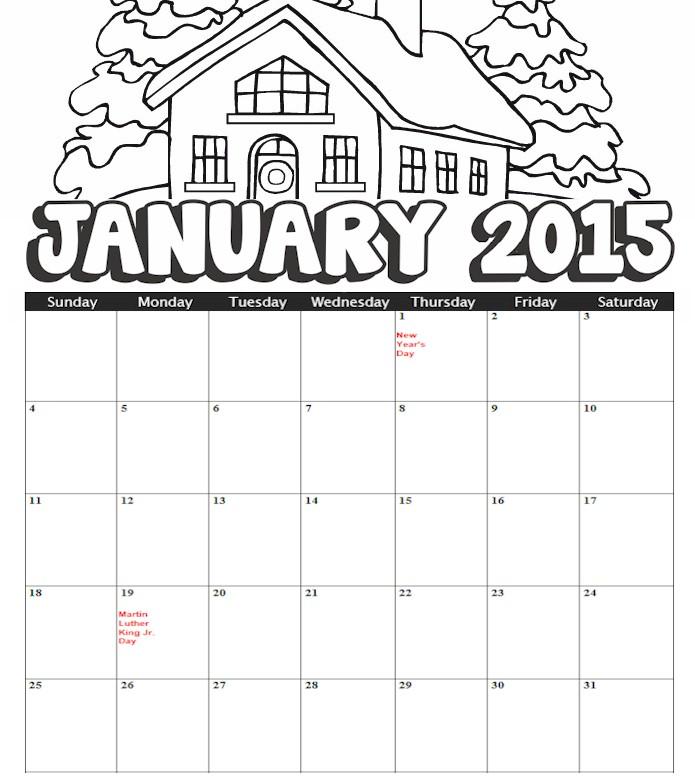 Kindergarten January Calendar : Blank january calendar kindergarten search results