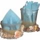 Use seashells to make napkin and utensil holders