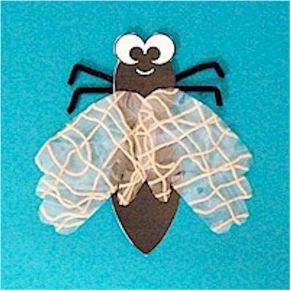 Handprint Fly Craft