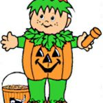 Playtime Halloween Paper Dolls