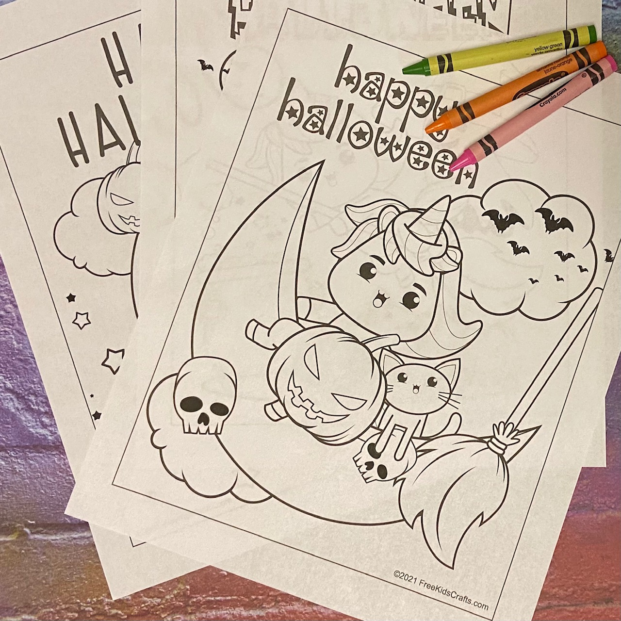 Halloween Coloring Pages for all ages
