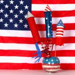 Fourth of July Fireworks Centerpiece