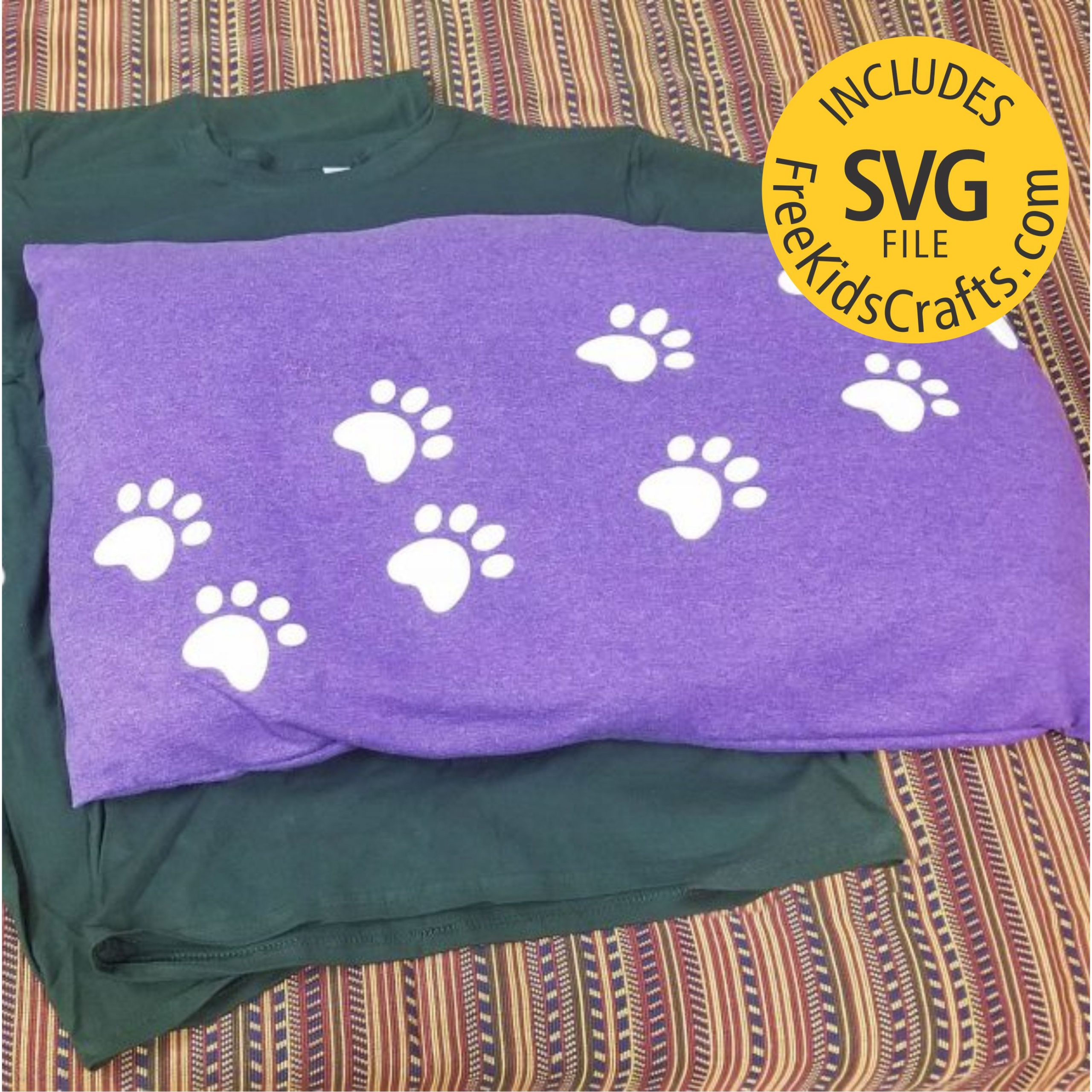 Dog Bed Made from New or Recycled Tee Shirts.