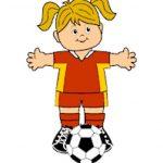 Playtime Soccer Paper Dolls