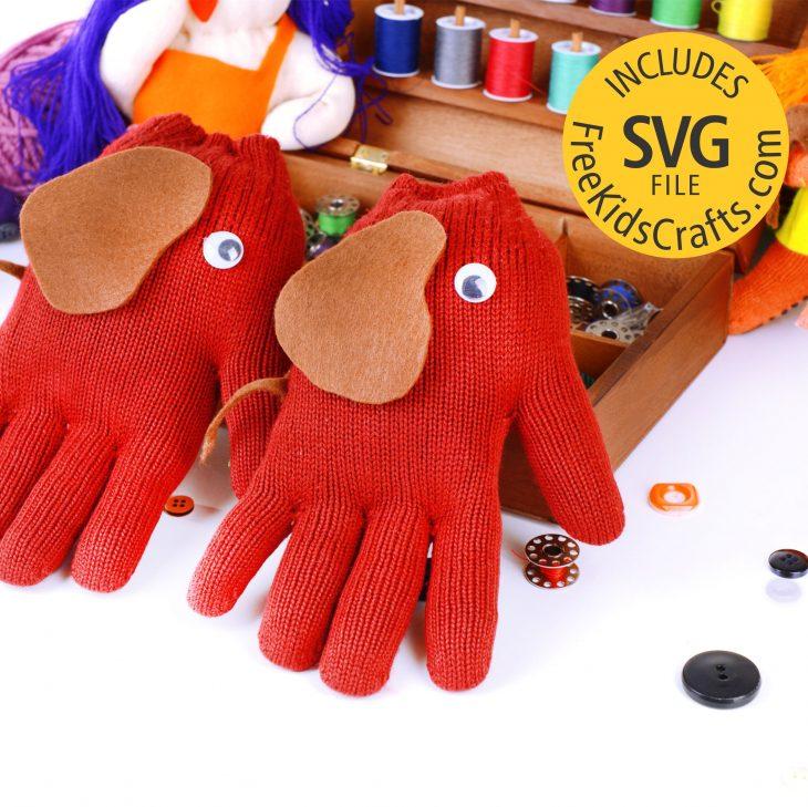 Make Easy Elephant Gloves