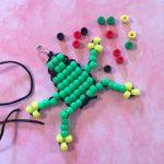 Pony Bead Frog