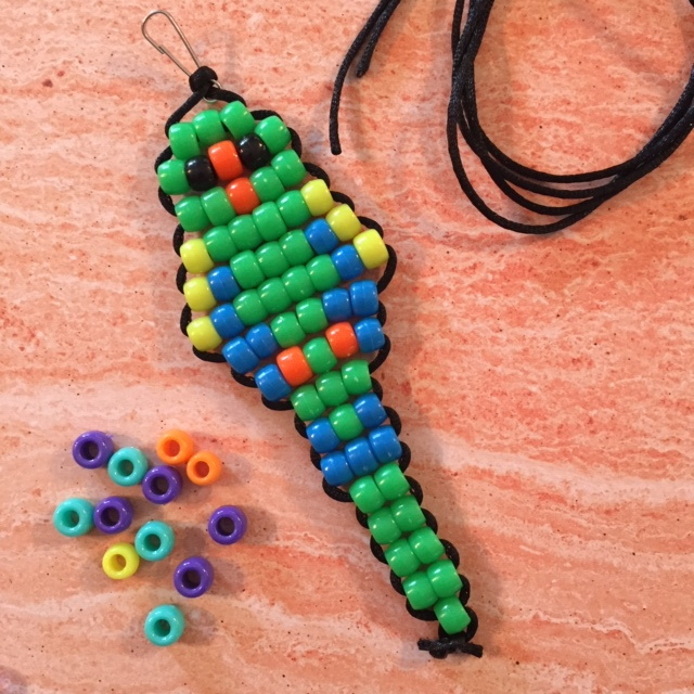 Beaded Parrot