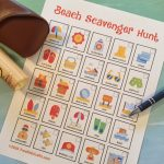 Printable Beach Scavenger Hunt