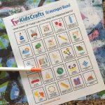 Free Kids Crafts Scavenger Hunt