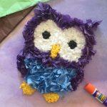 Tissue Paper Owl