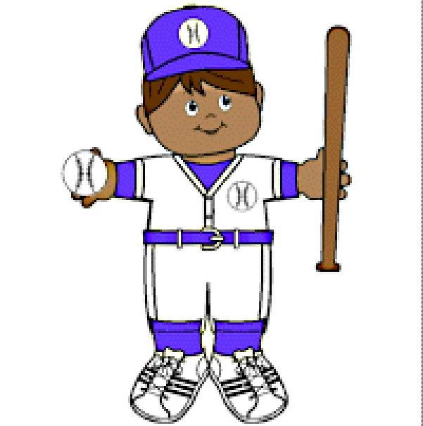 Playtime Baseball Paper Doll