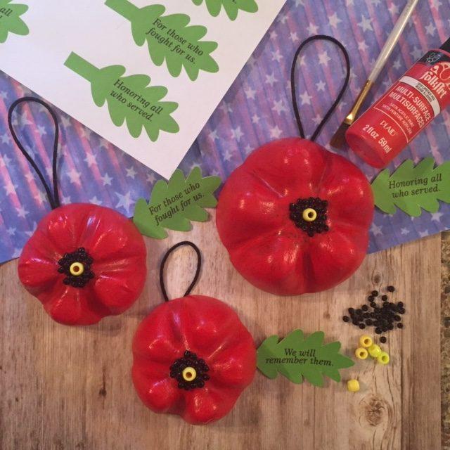 Poppy Door Hanger
