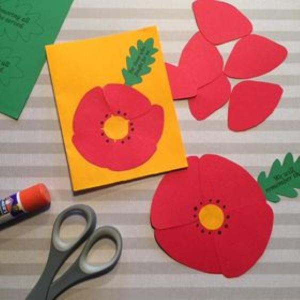Veterans Day Poppy Project
