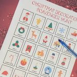 Christmas Decoration Scavenger Hunt
