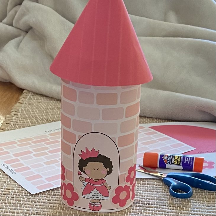 Printable Princess Castle (Cut & Paste Craft)