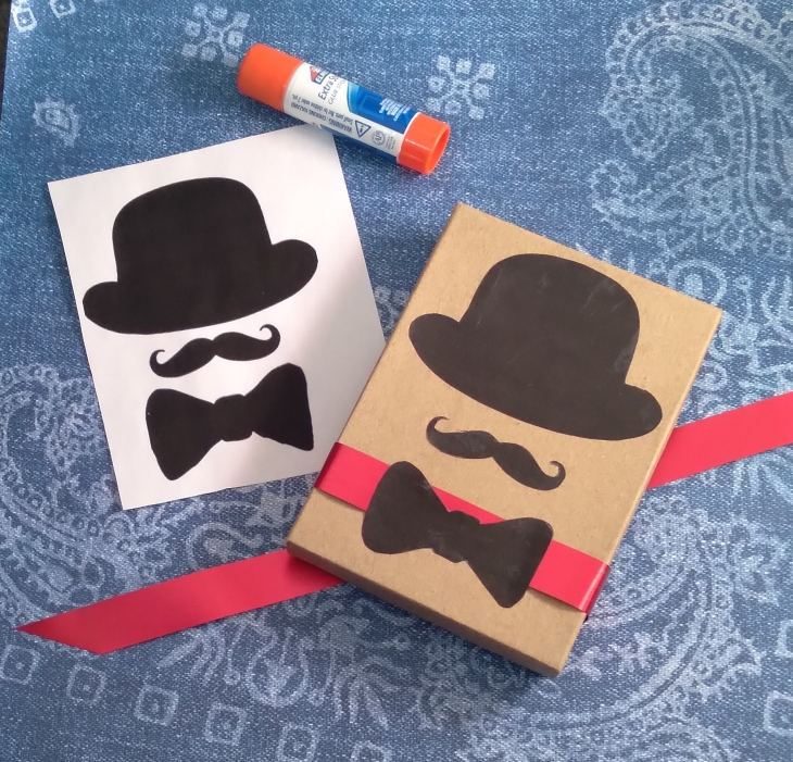 Easy Father's Day Gift Wrap Craft