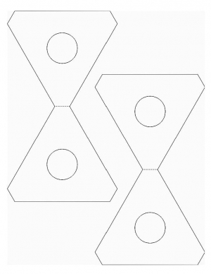Triangle game for kids to make