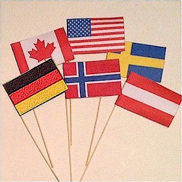Olympic Flag Crafts