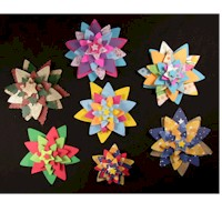Image of Quilled Gift Package Ornaments