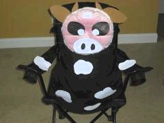 Image of Cow Picnic Chair